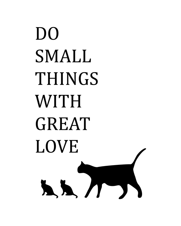 Do Small Things With Great Love. Modern Farmhouse wall art quote, Dorm Large Poster, Large Wall Art, Love, Dorm Wall Art, Yoga Art for Home, Motivational Quotes Print,Family Sign, Love Sign, Office Decor, Inspirational Quote, Motivational Print, Typography Print, Reminiscences Art || 8x10 inches (HD pdf)
