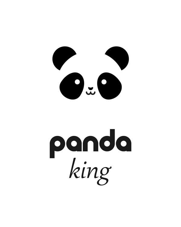 Panda King FREE printable wall art